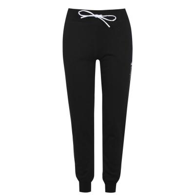 Pantaloni jogging Champion Slim Leg cu mansete negru