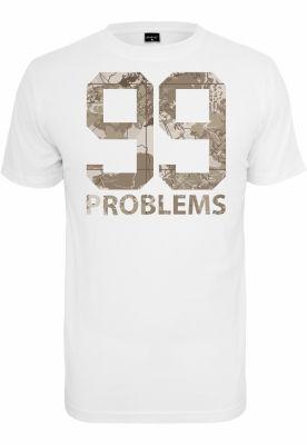 99 Problems Desert Camo Tee alb Mister Tee