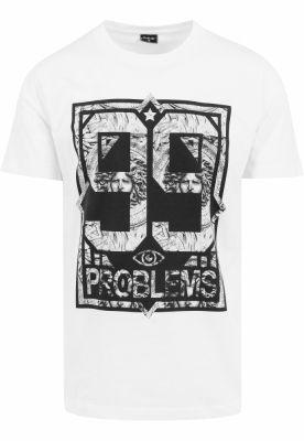 Tricouri hip hop 99 Problems alb-marble Mister Tee