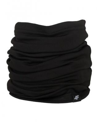 Fular tubular negru 4F unisex