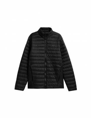 Jacheta matlasata 4F negru barbati