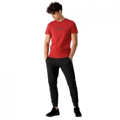 Pantaloni conici sport 4F negru barbati