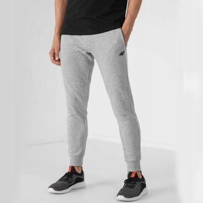 Pantaloni conici trening 4F gri barbati