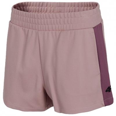 Pantaloni scurti roz 4F femei