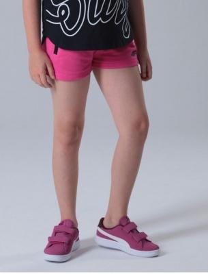 Pantaloni scurti sport roz 4F copii
