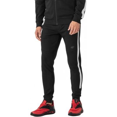 Pantaloni sport conici 4F negru barbati