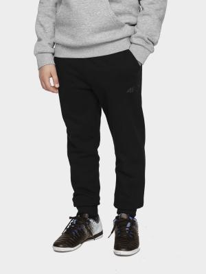 Pantaloni sport conici 4F negru copii