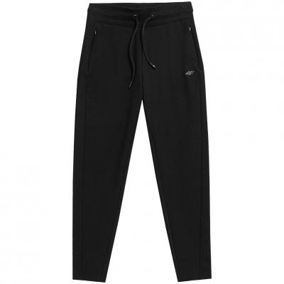 Pantaloni sport conici 4F negru femei