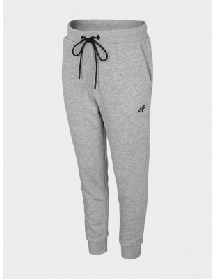 Pantaloni sport gri conici 4F copii