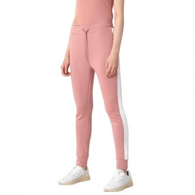 Pantaloni sport roz 4F conici femei
