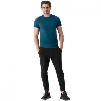 Pantaloni trening conici 4F negru barbati
