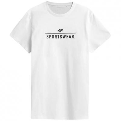 Tricou alb 4F Sportswear barbati