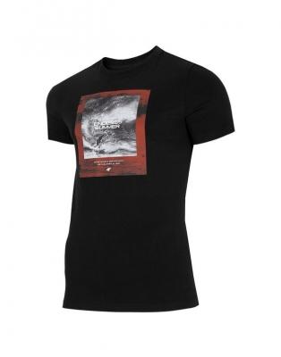 Tricou cu imprimeu pe piept 4F barbati