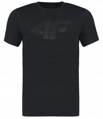 Tricou maneca scurta negru 4F barbati