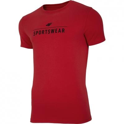 Tricou rosu 4F Sportswear barbati