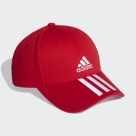 Sapca rosie adidas Baseball 3-Stripes FK0897 unisex