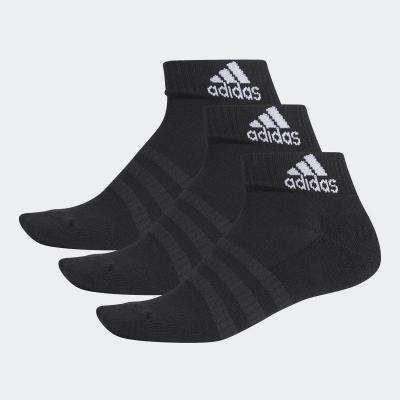 Sosete scurte negre adidas Performance Cushioned unisex