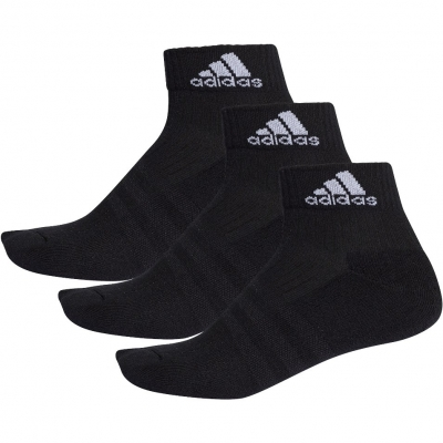 Sosete sport negre adidas 3-Stripes Performance unisex adulti