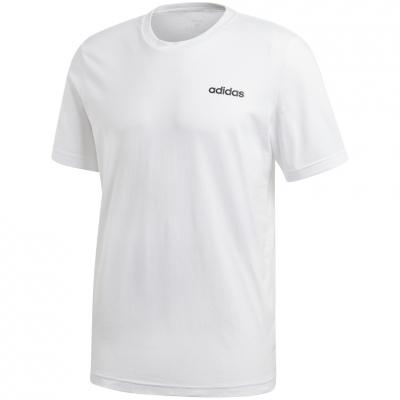 Tricou alb bumbac adidas Essentials Plain DQ3089 barbati