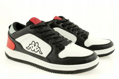 Sneakers Kappa Lineup Low alb cu rosu barbati