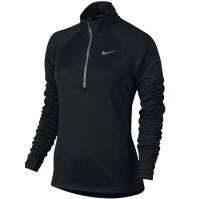 Bluza jogging neagra cu fermoar Nike Elements femei