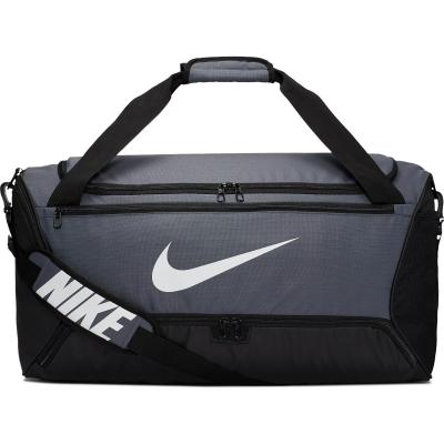 Geanta sala gri Nike Brasilia Training Duffel Bag Medium BA5955-026