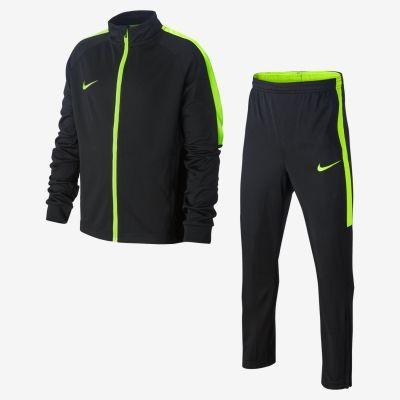 Trening negru cu verde Nike Dry Academy baietei