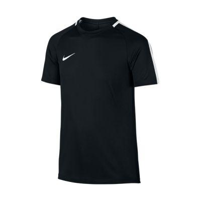 Tricou polo negru fotbal Nike Dry Top Academy pentru baietei