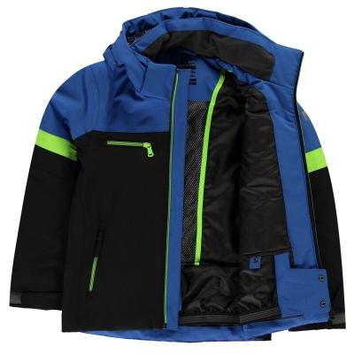 Geaca ski Nevica Helmut albastru copii
