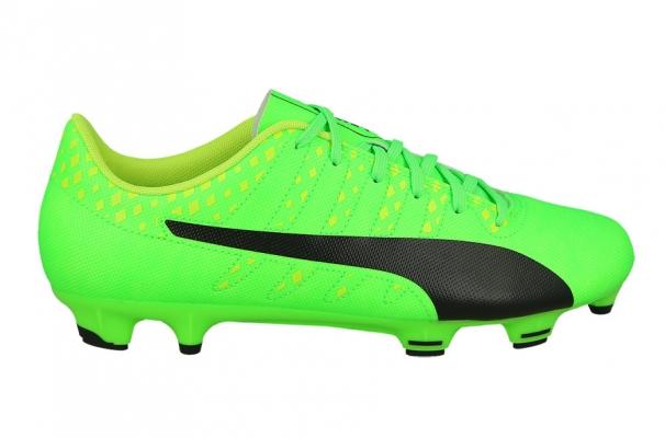 Ghete fotbal Puma EvoPower Vigor 4 FG barbati verde lime