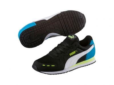 Pantofi sport colorati Puma Cabana Racer Mesh Jr copii
