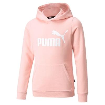 Hanorac roz gluga Puma ESS Logo fete