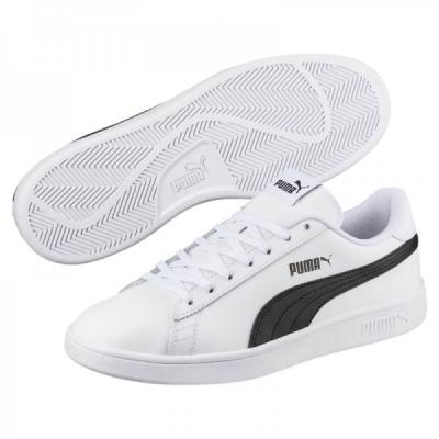 Pantofi sport albi Puma Smash Up 372605-02 barbati