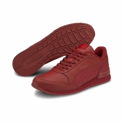 Sneakers Puma ST Runner rosu 365277-24 barbati