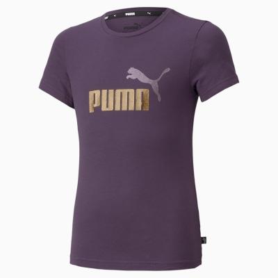 Tricou mov bumbac Puma Logo fete