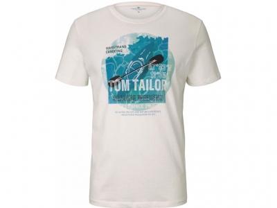Tricou cu imprimeu maritim Tom Tailor barbati