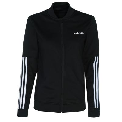 Bluza trening neagra adidas Back 2 Basics 3-Stripes femei
