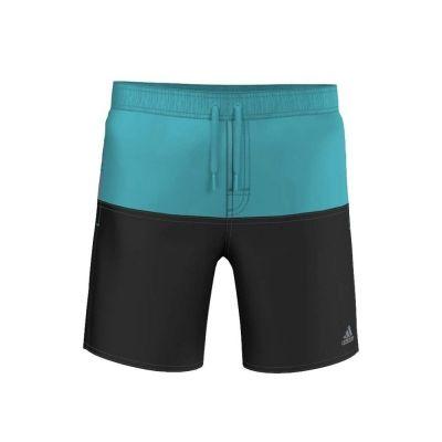 Pantaloni scurti inot adidas pentru baietei albastru negru