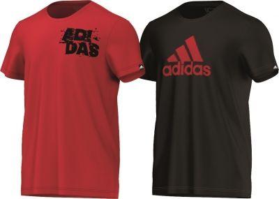 Set 2 tricouri bumbac adidas pentru barbati