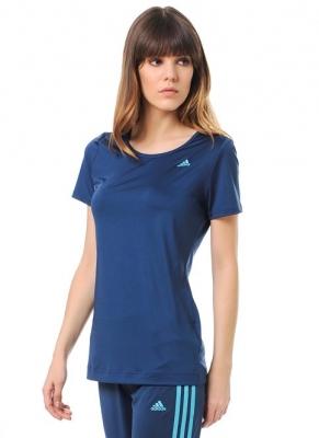 Tricou sala bleumarin adidas Basic Solid femei