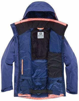 Echipament ski femei Salomon Fantasy Jacket