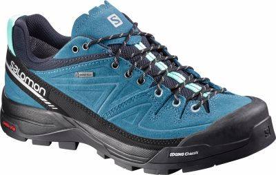 Pantofi de hiking femei Salomon X Alp Leather Gore-Tex