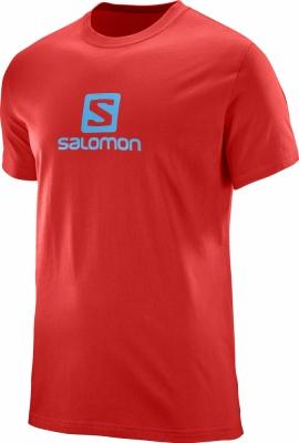 Tricouri sport barbati Salomon Coton Logo Ss Tee