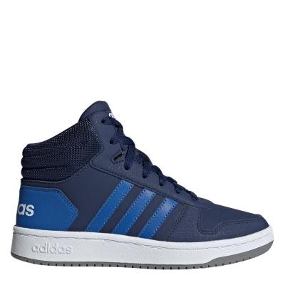 adidas 2.0 Mid Shoes pentru Copii bleumarin albastru alb