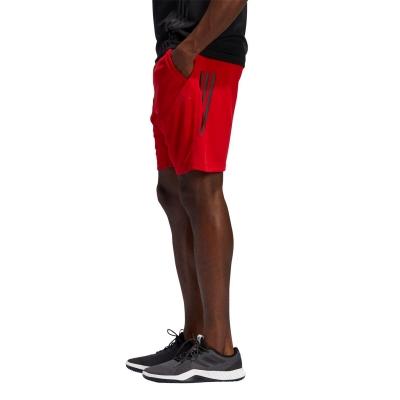 Pantaloni scurti adidas adidas Kraft 3-Stripes pentru Barbati rosu negru