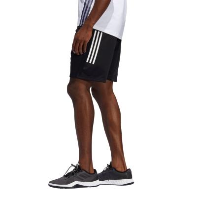 Pantaloni scurti adidas adidas Kraft 3-Stripes pentru Barbati negru alb