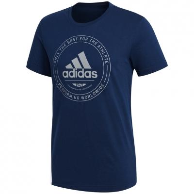 Adidas Adi Emblem gri bleumarin Jersey CV4517 barbati