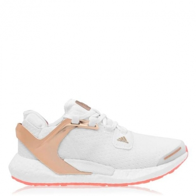 Adidasi alergare adidas Alphatorsion Boost pentru femei alb auriu roz