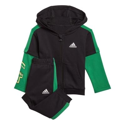 Treninguri adidas Bold pentru baieti pentru Bebelusi negru verde