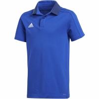 Tricou Adidas Condivo 18 bumbac Polo albastru CF4372 copii teamwear adidas teamwear